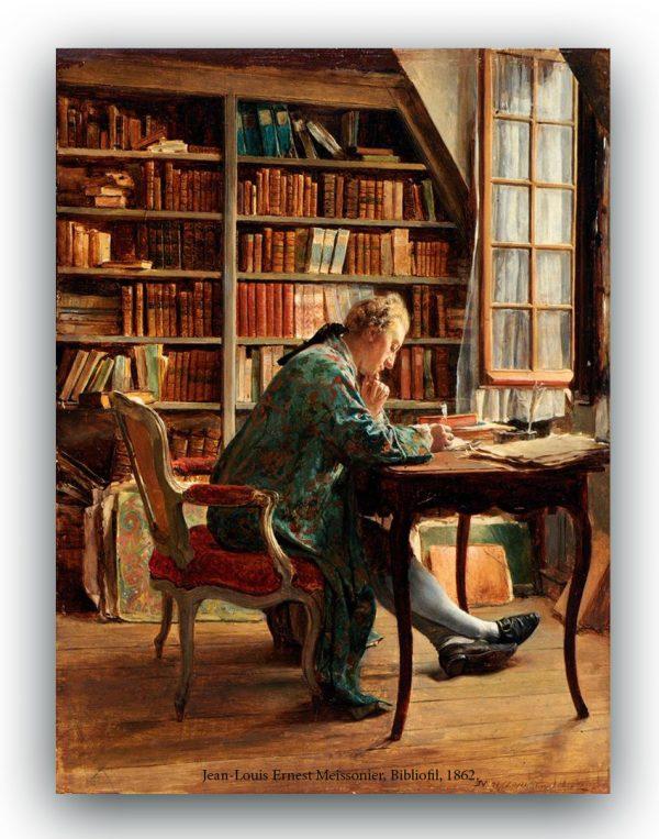 Jean Louis Ernest Meissonier, Bibliofil, 1862